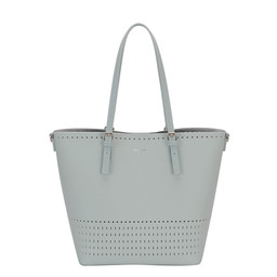David Jones Detailed Shopper in Peppermint