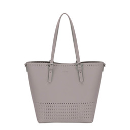 David Jones Detailed Shopper in Grey