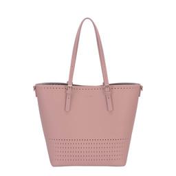 David Jones Detailed Shopper - Blush Pink
