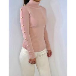 Lucy Cobb Bailee Jumper - Blush Pink