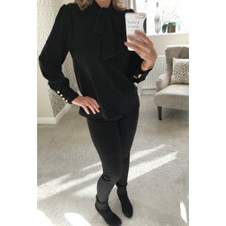 Lucy Cobb Tracey Blouse - Black