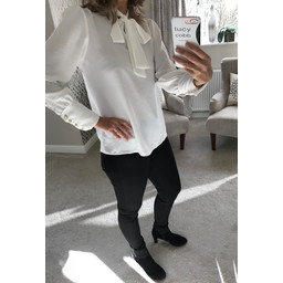 Lucy Cobb Tracey Blouse - Winter White