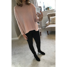 Lucy Cobb Janet Jumper in Dusky Pink
