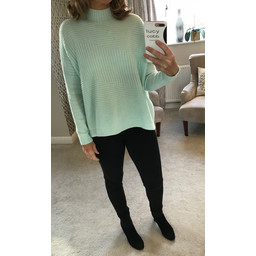 Lucy Cobb Janet Jumper in Mint